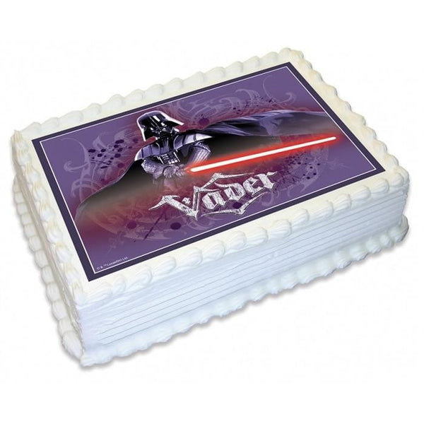 Star Wars Darth Vader Edible Cake Image - A4 Size