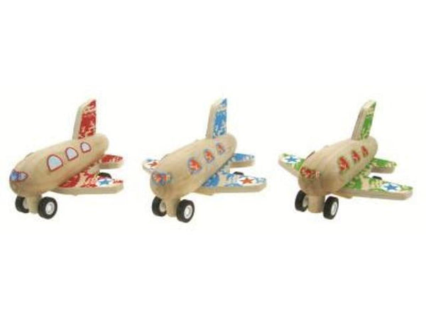 Wooden Pull Back Plane | Planes Party Theme and Supplies