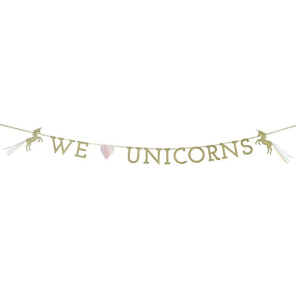 Talking Tables | We Heart Unicorns Garland | Unicorn Party