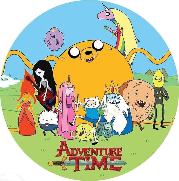 Adventure Time Edible Cake Image