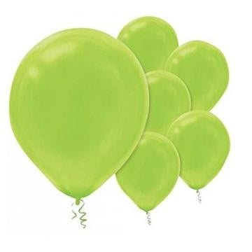 Amscan | Value Balloons Pack of 15 - Kiwi Lime