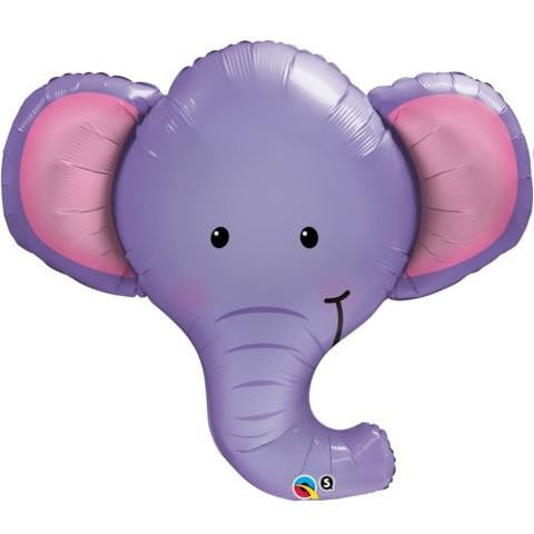Elephant Foil Balloon | Animal themes and supplies