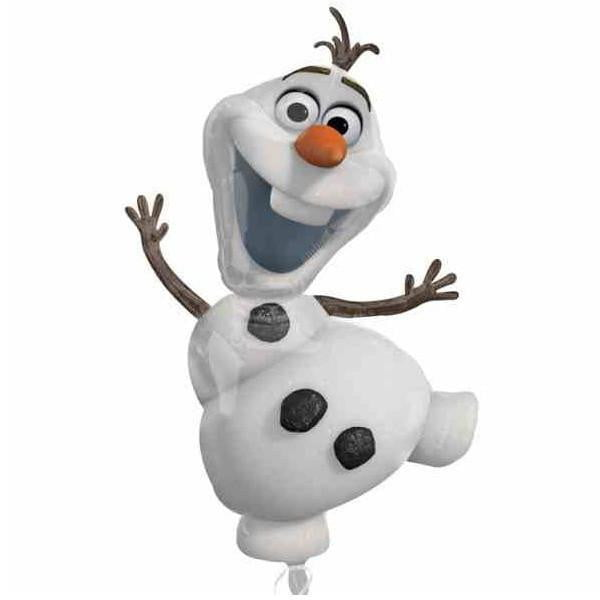 Frozen Olaf Balloon |  Frozen Olaf Helium Balloon themes and supplies