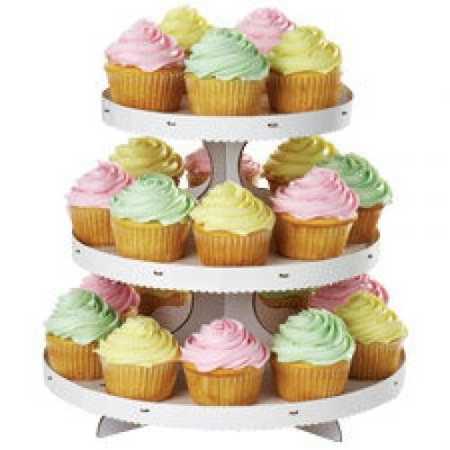 Wilton | White Cupcake Stand | White Party Theme and Supplies