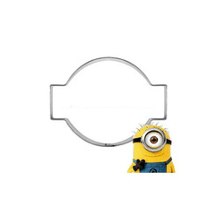 Minions One Eye Goggle Cookie Cutter