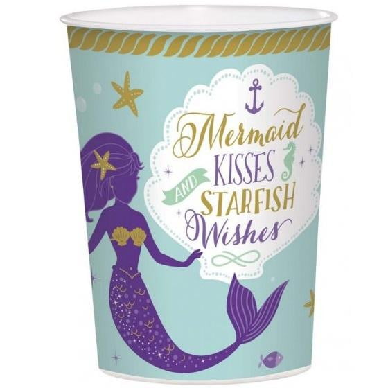 Mermaid Wishes Keepsake Cup | Mermaid Party Supplies