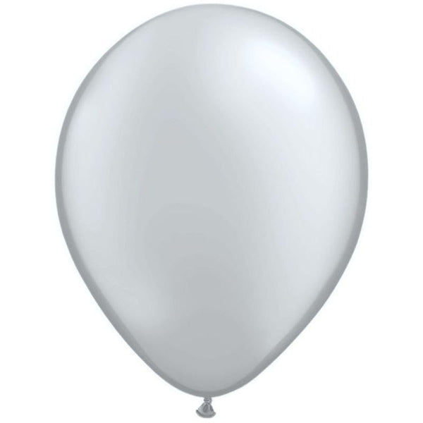 Qualatex | Metallic Silver Balloon | Balloons Wellington