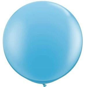 Pale Blue Giant Balloon | Helium Balloons Wellington