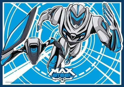 Max Steel Edible Cake Image - A4 Size