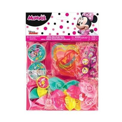 Amscan | Minnie Mouse Happy Helpers Mega Mix Favour Pack - 48 Pieces