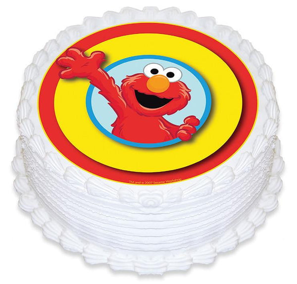 Elmo Edible Cake Image | Seasame Stree Party Theme & Supplies