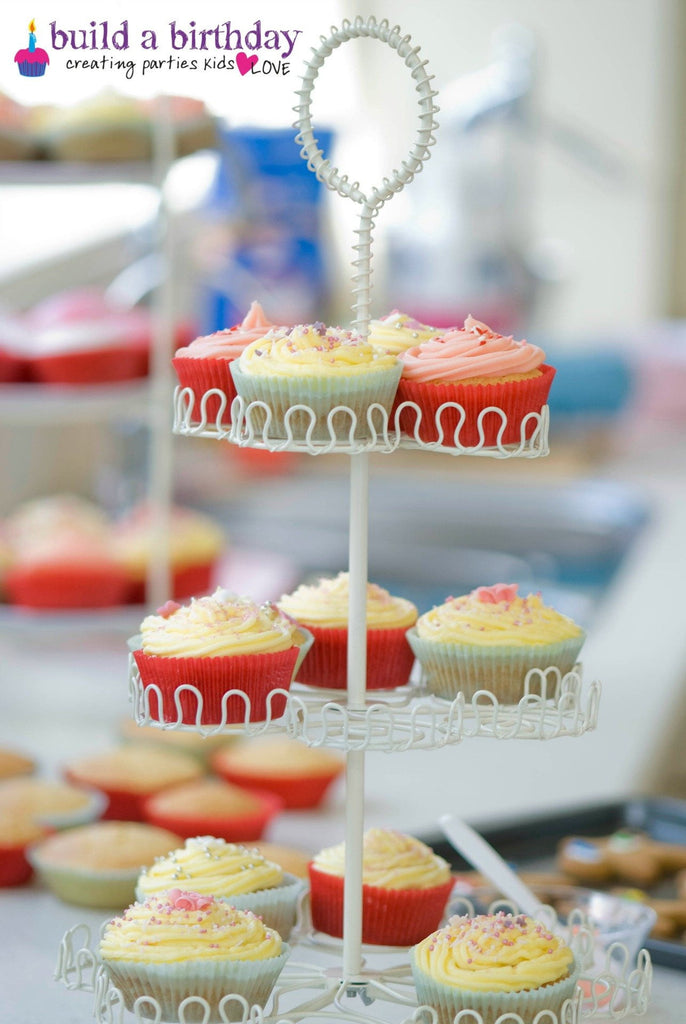 Cupcake Stand Hire | Kids Birthday Party Supplies