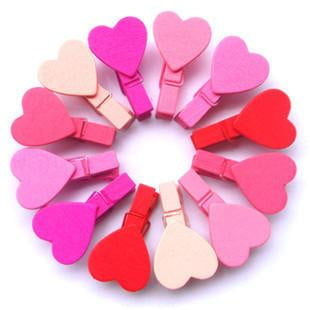 Heart Pegs | Princess Party Theme and Supplies