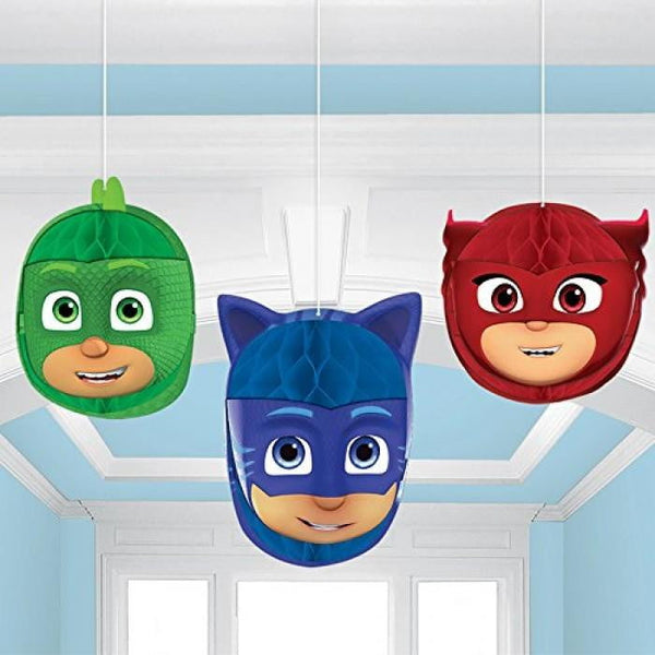 PJ Masks Honeycomb Decorations | PJ Masks Party Supplies