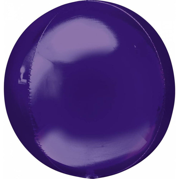 Qualatex | Purple Orbz Balloon | Purple Party Supplies