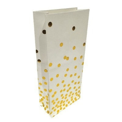 Sundays | Gold Confetti Treat Bags