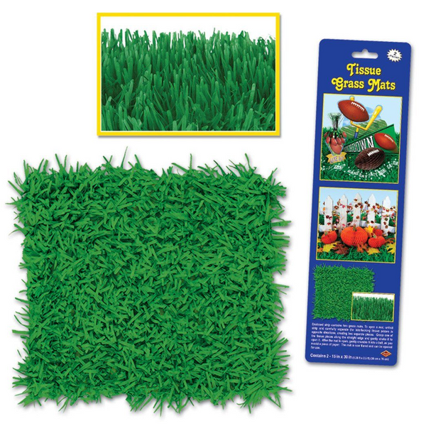 Fake Grass Mat | Garden Party Supplies