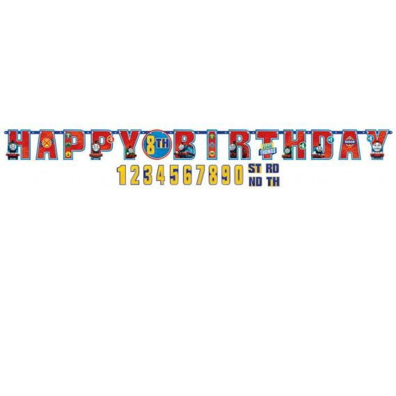 Thomas the Tank Engine Birthday Banner | Thomas the Tank Engine Party