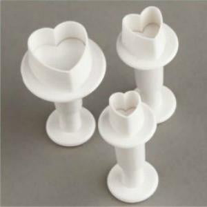 Heart Fondant Cutters | Cake Decorating Supplies