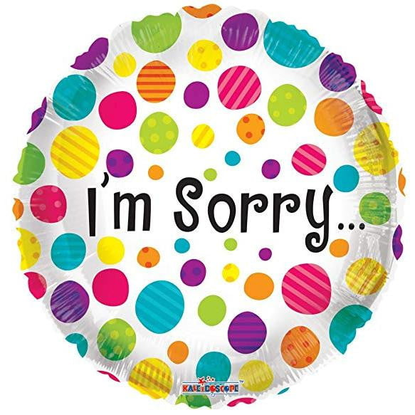 I'm Sorry Balloon | Apology Balloon