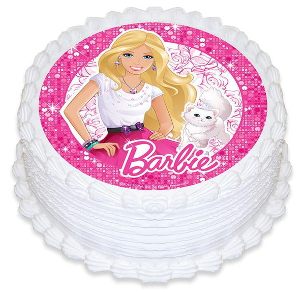 Barbie Cake Image | Barbie Party Theme and Supplies