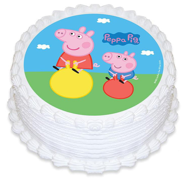Peppa Pig Cake Image | Peppa Pig Party Theme and Supplies