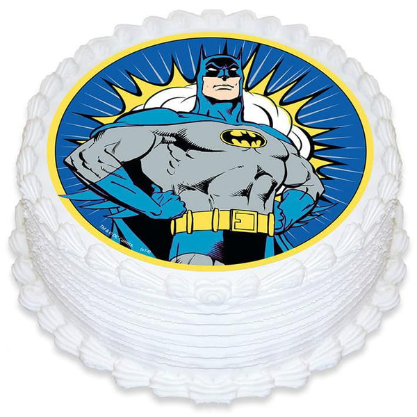 Batman Icing Image | Superhero Party Theme and Supplies