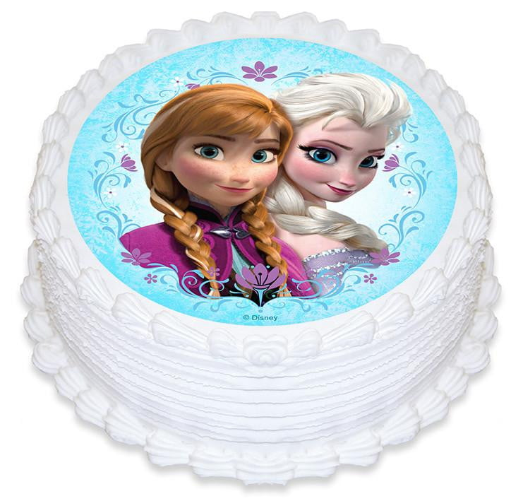 Disney | Frozen Cake Decoration | Frozen Party Theme and Supplies