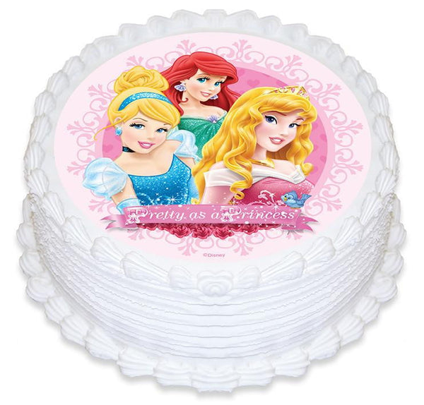 Edible Cake Images Disney Princess : Pre-Made Edible Images   Build a Birthday