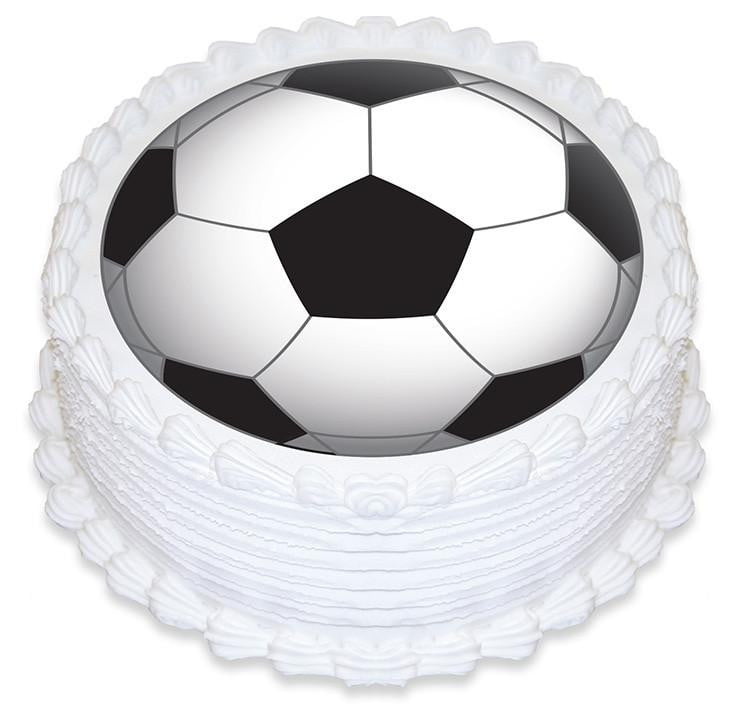 Soccer Ball Cake Image | Sports Party Theme and Supplies