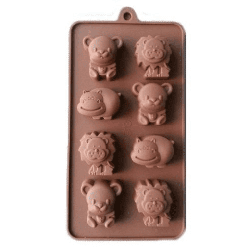 Jungle Animal Silicone Mould | Jungle Animal Party