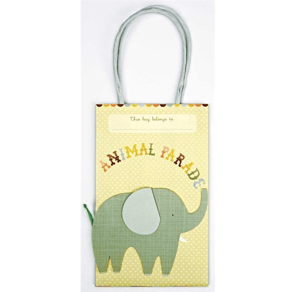 Meri Meri | Animal Parade Party Bags | Animal Party