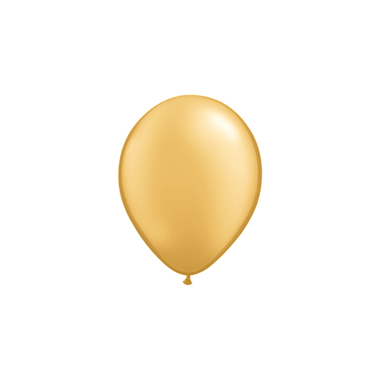 Qualatex | Metallic Gold Mini Balloons