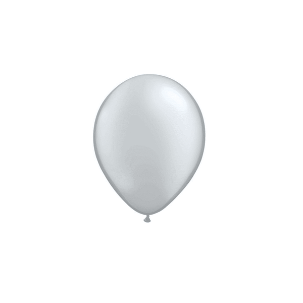Qualatex | Metallic Silver Mini Balloons