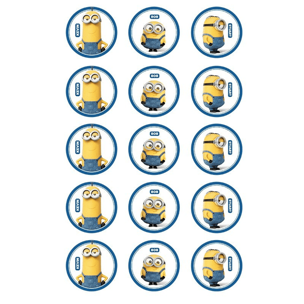 Buy Minion Party Supplies Online at Build a Birthday NZ