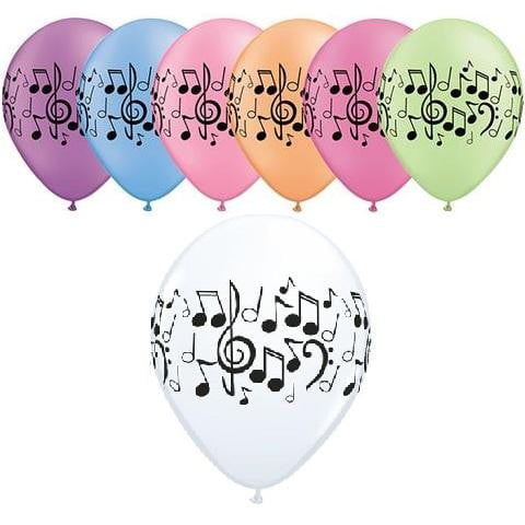 Music Notes Balloon | Music Party Theme and Supplies