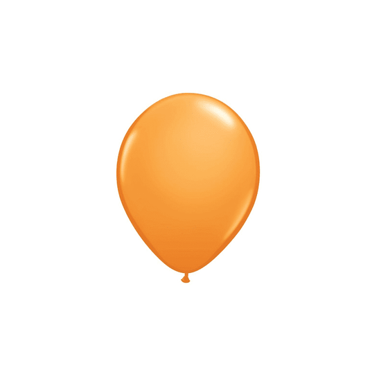 Pack of 12 Mini Balloons - Orange