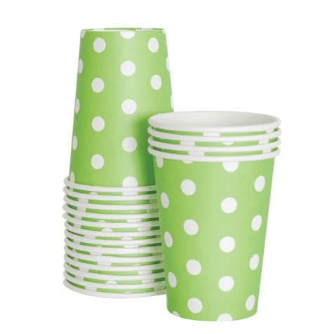 Paper Eskimo | Green Cups | Green Party