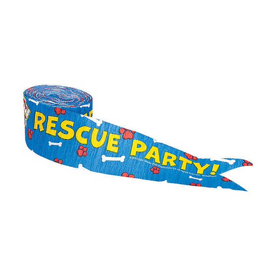 Paw Patrol Streamer | Paw Patrol Decorations | Paw Patrol Party Supplies