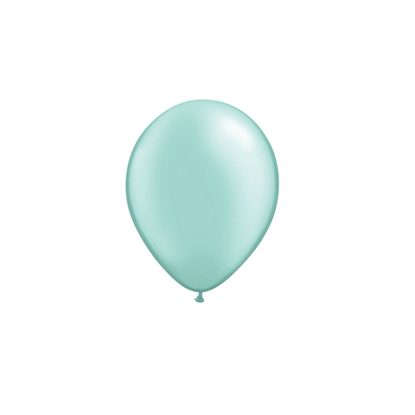 Qualatex | Pearl Mint Green Mini Balloon | 21st Birthday Party Balloons