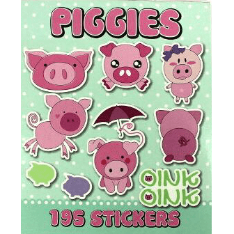 Pig Stickers | Farmyard Party Theme and Supplies