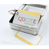 Quote Keeper Tin Set