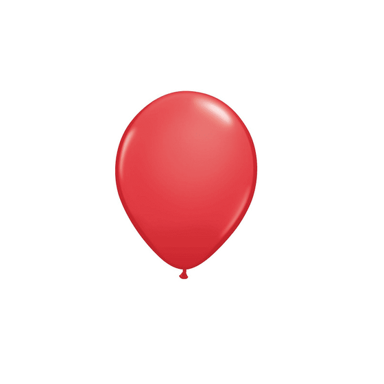 Qualatex | 5 Inch Red Balloon | Red Party Supplies