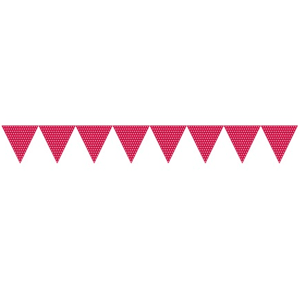 Red Bunting | Red Party Theme and Supplies