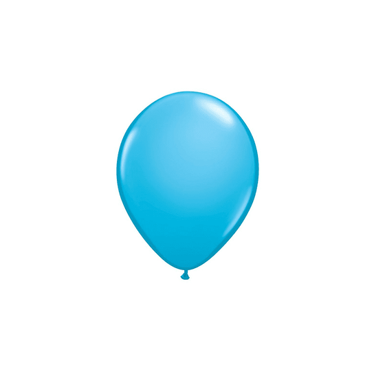 Qualatex | Robins Egg Blue Mini Balloons | Mermaid Party