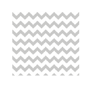 Silver Chevron Table Runner | Chevron Party Theme and Supplies