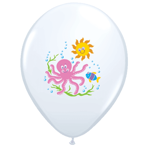 Smiling Seas Balloon | Under the Sea Party