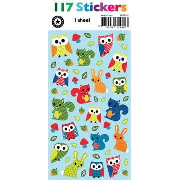 Forest Friends Stickers WEB5145