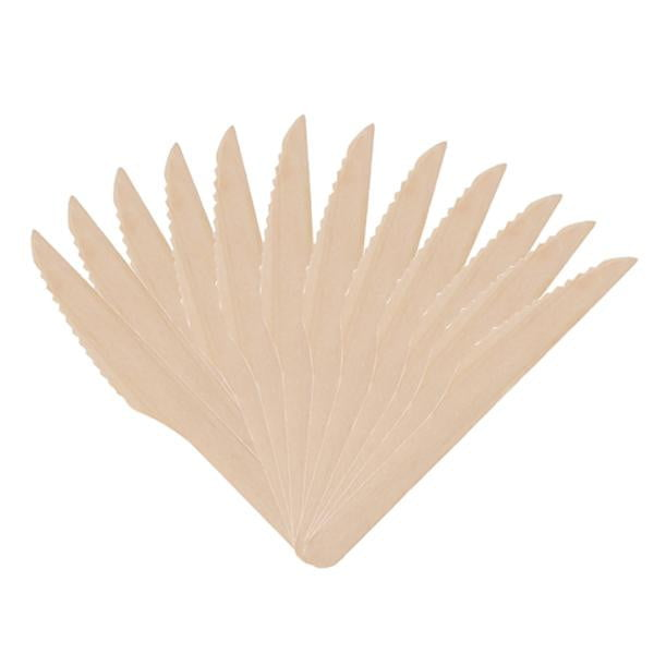 Wooden Knives 12 Pack | Eco Party Theme & Supplies