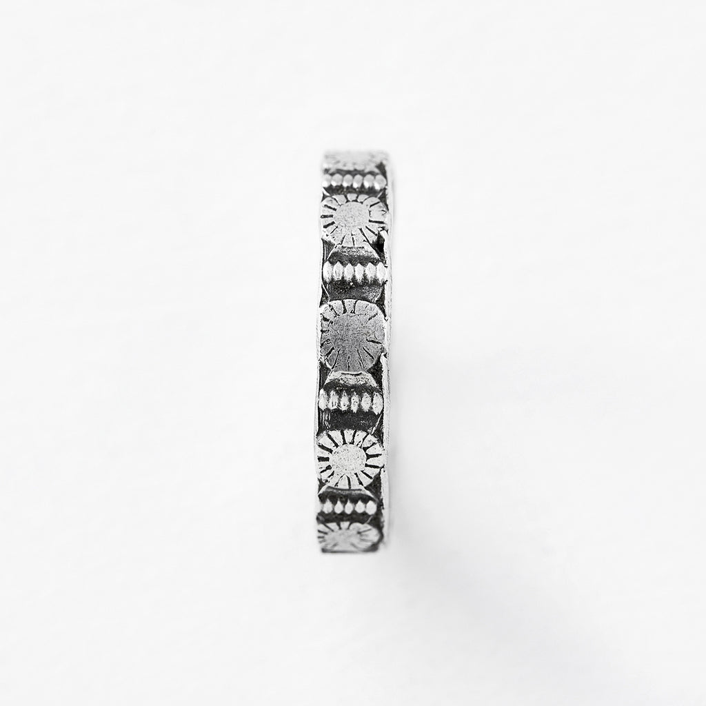 independence stacking ring silver